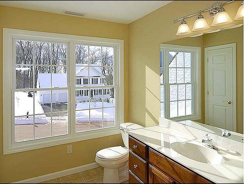 Bathroom in home of Cobblestone Meriden CT