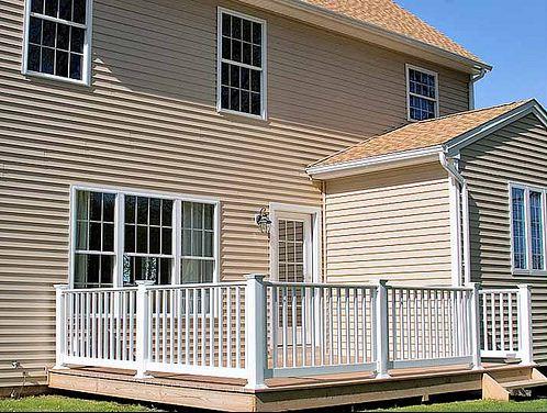 Deck on Home in Cobblestone Meriden CT