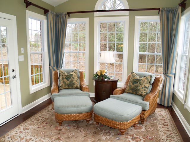Add extra space without big costs by converting a porch into a sunroom