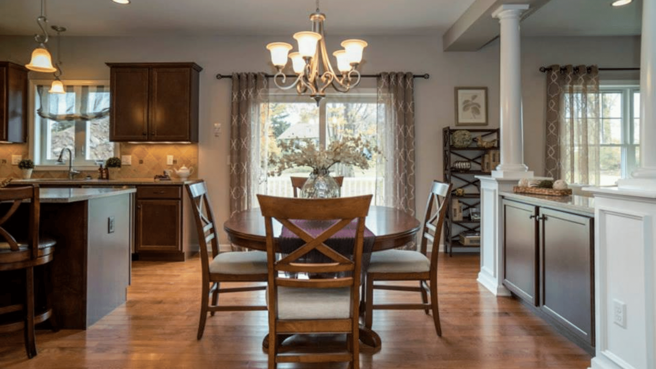 renovated dining room