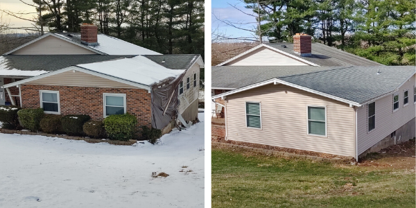 Exterior Remodel Before and After